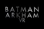 Batman Arkham VR Logo black