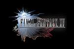 Final Fantasy XV Logo black