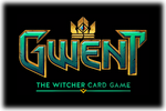Gwent The Witcher Card Game Logo black