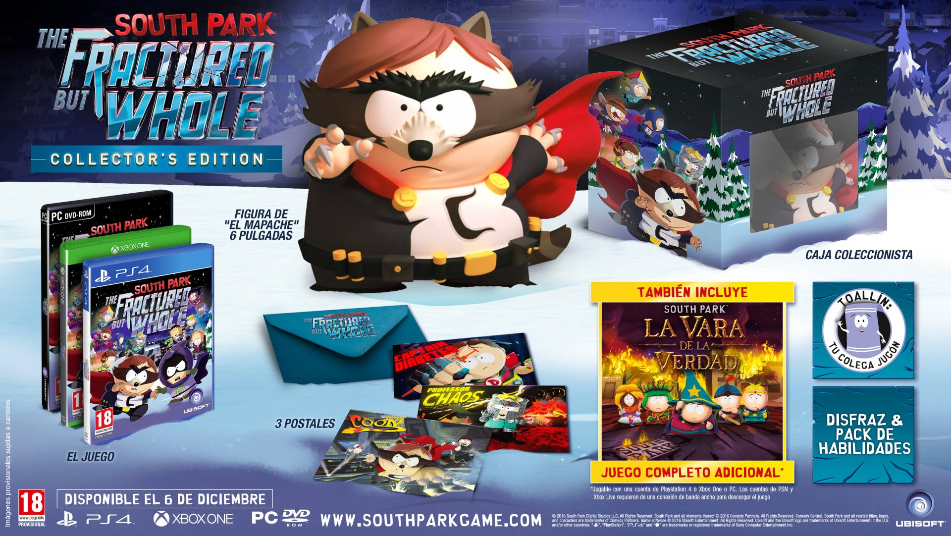 South Park The Fractured But Whole 13-06-16 Collectors Edtion 000