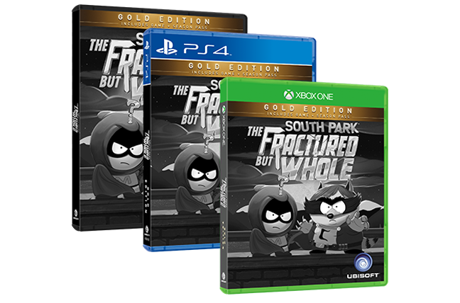 South Park The Fractured But Whole 13-06-16 Gold Edtion
