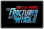 South Park The Fractured but Whole Logo black
