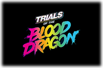 Trials of the Blood Dragon Logo black