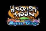 Harvest Moon Skytree Village Logo black