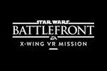 Star Wars Battlefront X-Wing VR Mission Logo black