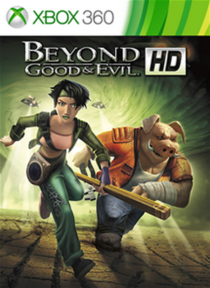 Beyond Good & Evil HD cover Xbox 360