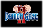 Demon Gaze II Logo black