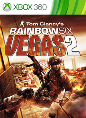 Tom Clancy's Rainbow Six Vegas 2 cover Xbox 360